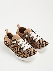 Riley Sneaker - Stretch Knit Leopard , LEOPARD, hi-res