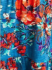Tiered Raglan Top - Floral Blue, OTHER PRINTS, alternate