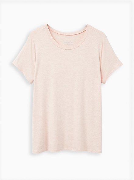 Perfect Tee - Super Soft Pink, PALE BLUSH, hi-res