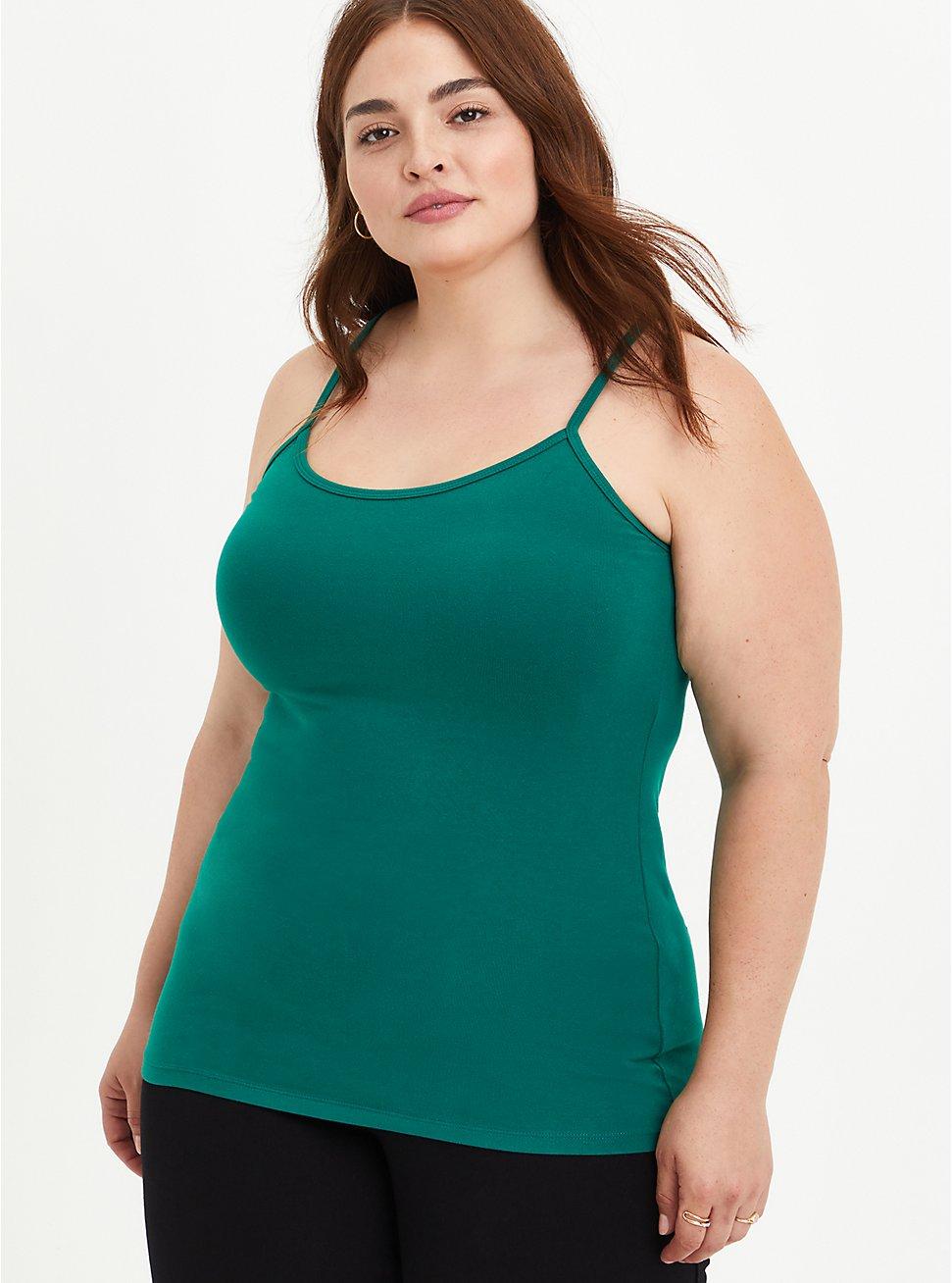 Foxy Cami - Green, GREEN, hi-res