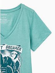 Girlfriend Tee - Signature Jersey Desert Dreamer Mineral Wash Green, GREEN, alternate