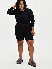Sleep Sweatshirt - Micro Modal Terry Moon Black, MULTI, alternate