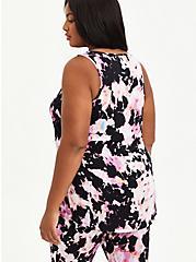 Sleep Tank -  Super Soft Pink & Black Tie Dye, MULTI, alternate