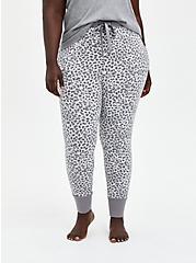 Sleep Legging - Supersoft Leopard Grey, MULTI, alternate