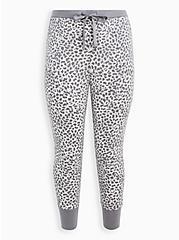Sleep Legging - Supersoft Leopard Grey, MULTI, hi-res