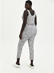 Sleep Jumpsuit - Micro Modal Terry Leopard Grey, MULTI, alternate