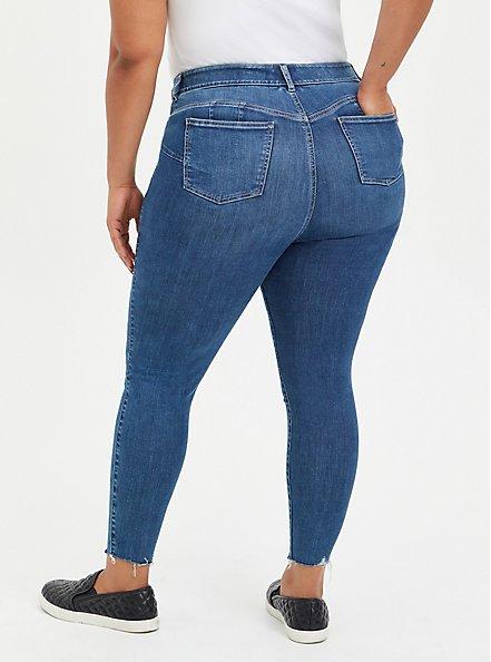 Bombshell Skinny Jean - Super Soft Medium Wash, JUPITER, alternate