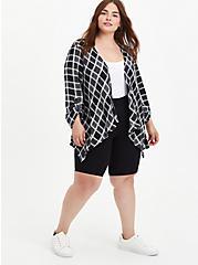 Kimono - Gauze Plaid, MULTI, alternate