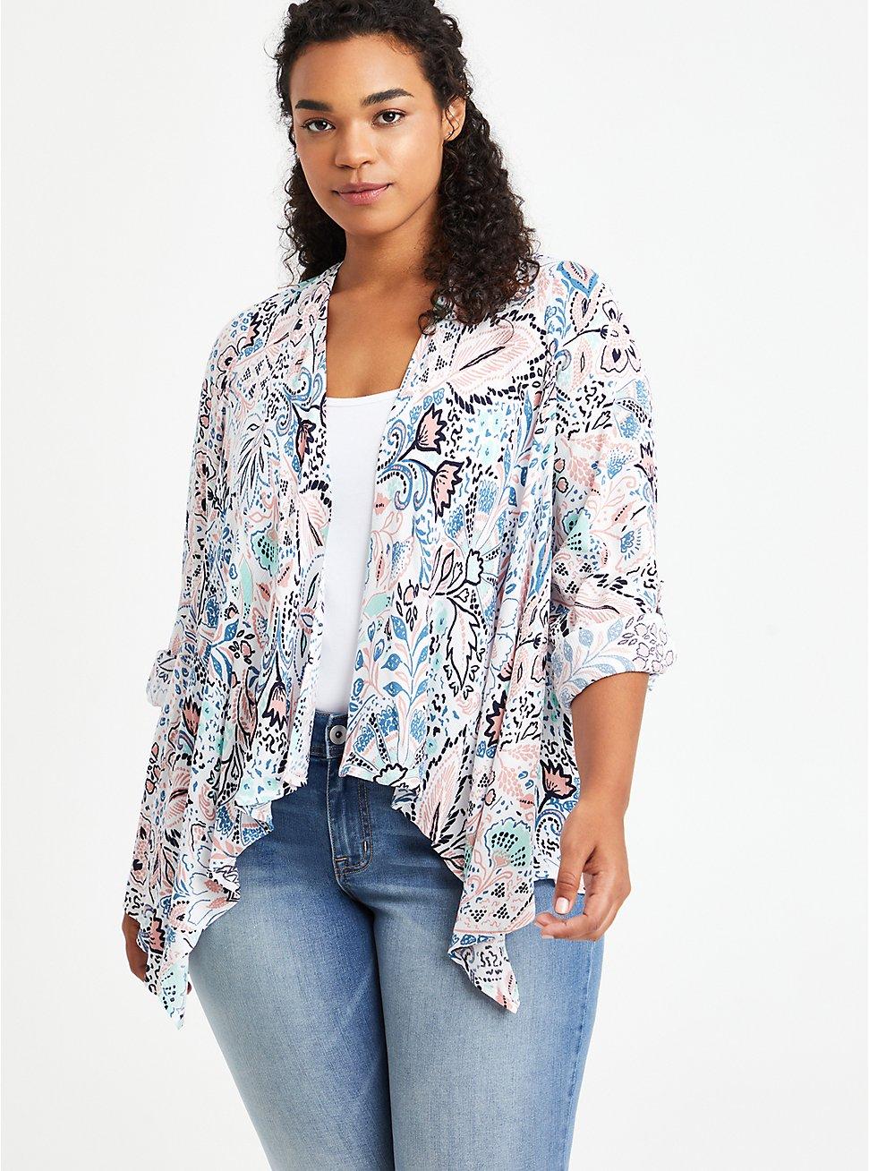 Kimono - Gauze Paisley, MULTI, hi-res