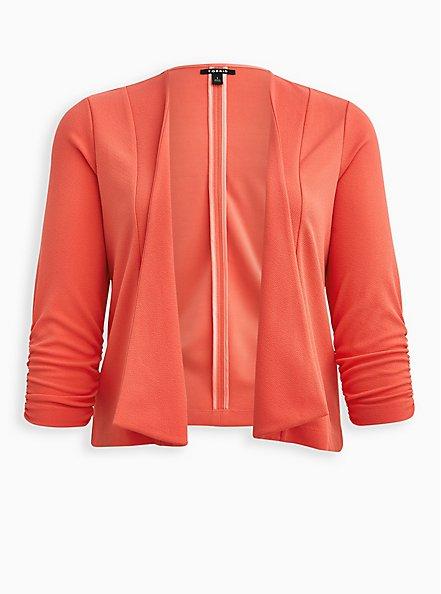 Drape Front Blazer - Crepe Pink, DUBARRY, hi-res
