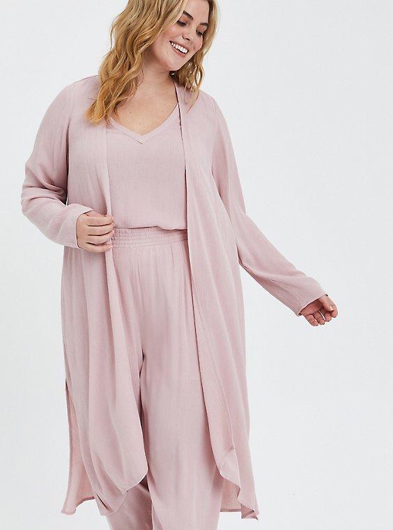 Kimono - Gauze Pink, PALE MAUVE, hi-res