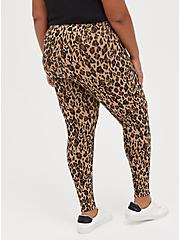 Premium Legging with Pockets - Leopard Print, ANIMAL, alternate