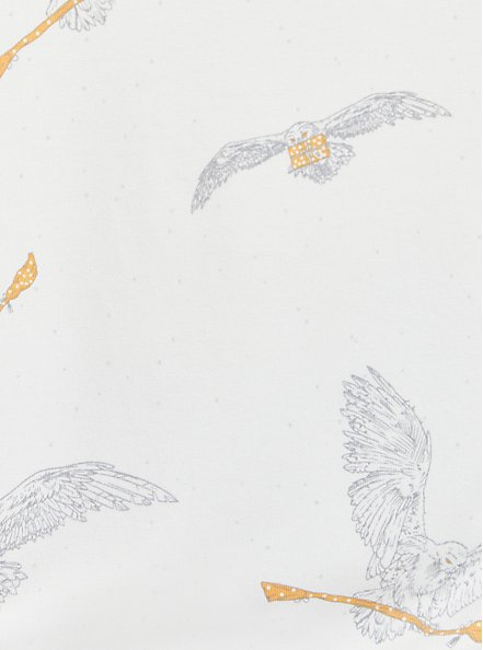 Favorite Tunic - Super Soft Harry Potter Owl Broom White, MULTI, alternate
