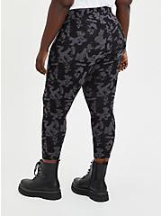 Crop Legging - Disney Mickey & Friends Black Grey, BLACK  GREY, alternate