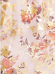 Sophie - Chiffon Floral Mauve Cami, FLORAL - TAN, alternate