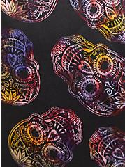 Sleep Cami - Satin & Lace Skull Black , MULTI, alternate