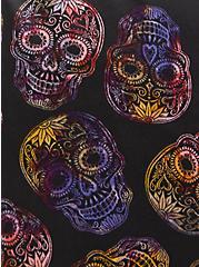 Sleep Short - Satin Skull Lace Black, MULTI, alternate