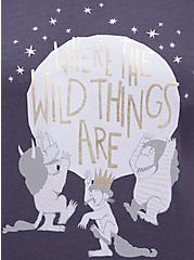 Ringer Top - Warner Bros. Where The Wild Things Are Grey , NINE IRON, alternate