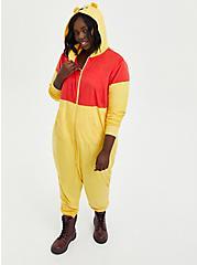 Onesie Pajamas - Disney Winnie The Pooh, GOLD, alternate