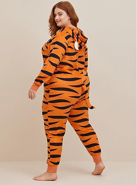 Onesie Pajamas - Disney Winnie The Pooh Tigger, ANIMAL, alternate
