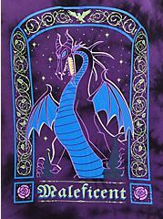Notch Neck Top - Disney Maleficent Tie Dye, TIE DYE, alternate