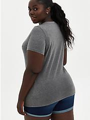 #TorridStrong Slim Fit Tee - Signature Jersey Nurses Grey, MEDIUM HEATHER GREY, alternate