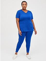 #TorridStrong Relaxed Jogger Scrub Pant - Cupro Blue, SURF THE WEB, alternate