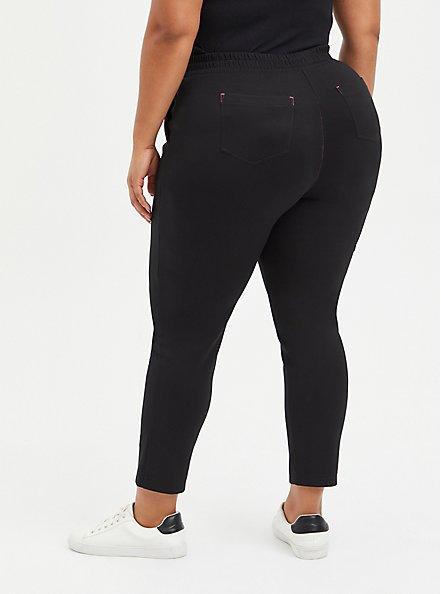 #TorridStrong Straight Leg Scrub Pant - Cupro Black , DEEP BLACK, alternate