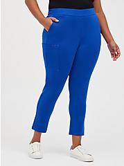 #TorridStrong Straight Leg Scrub Pant - Cupro Blue, SURF THE WEB, hi-res
