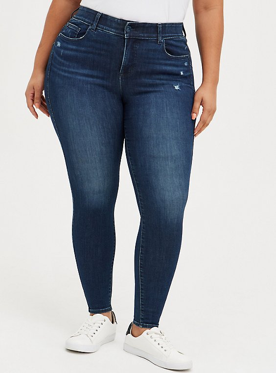 Bombshell Skinny Jean - Super Soft Medium Wash, LUNATION, hi-res