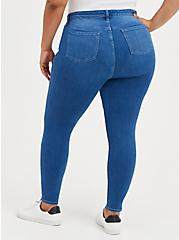 Sky High Skinny Jean - Premium Stretch Eco Medium Wash, , alternate