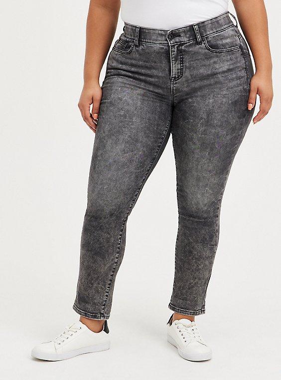 Bombshell Straight Jean - Super Soft Grey, JUNO, hi-res