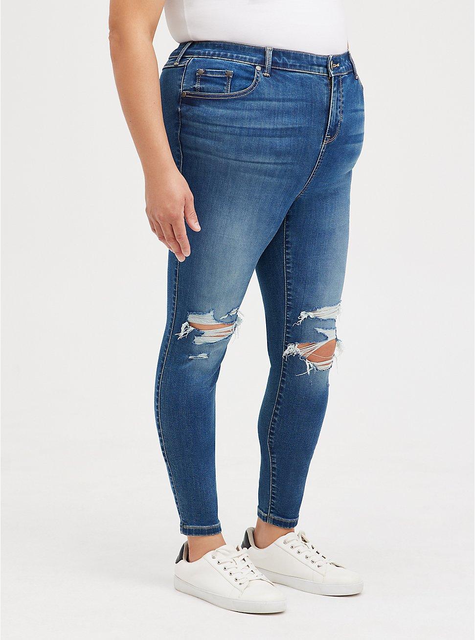 Midfit Super Skinny Jean - Super Soft Medium Wash, LONGSHORE, hi-res