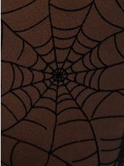 Premium Legging - Flocked Mesh Web Black, BLACK, alternate