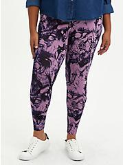 Premium Legging - Marble Purple, PURPLE, hi-res
