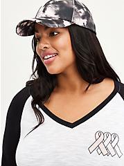 Breast Cancer Awareness Baseball Cap - Tie Dye, , alternate