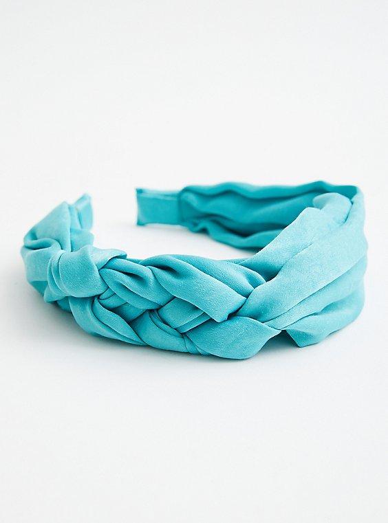 Turquoise Braided Headband, , hi-res
