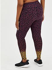 Active Wicking Full Length Legging - Ombre Leopard , LEOPARD, alternate