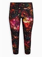 Active Wicking Legging - Galaxy Cosmo, COSMOS, hi-res