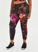 Active Wicking Legging - Galaxy Cosmo, , hi-res