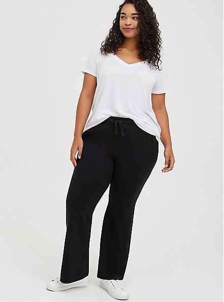 Flare Beach Pant - Everyday Fleece Black, DEEP BLACK, alternate
