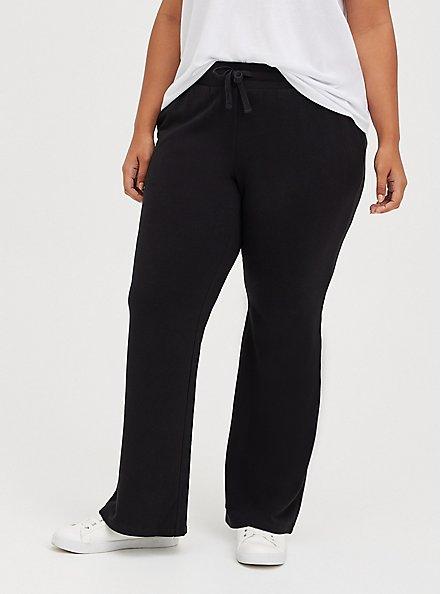 Flare Beach Pant - Everyday Fleece Black, DEEP BLACK, hi-res