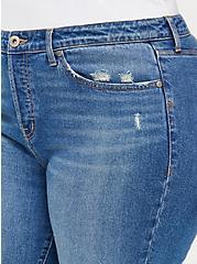 Stovepipe Straight Jean - Classic Denim Medium Wash, BLUE BLAZER, alternate
