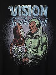 Slim Fit Crew Tee - Vision & Scarlet Witch Black, DEEP BLACK, alternate