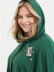 Hooded Cape Coat - Disney Hocus Pocus Green, DARK GREEN, alternate