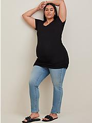 Maternity Tee - Super Soft Black, DEEP BLACK, hi-res
