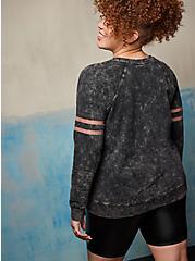 Raglan Sweatshirt - LoveSick Summon Spirits Black, DEEP BLACK, alternate