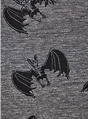 Vintage Tee - LoveSick Bats Black, DEEP BLACK, alternate