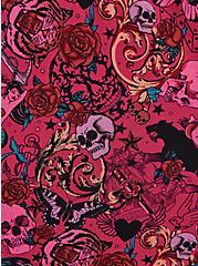 V-Neck Sleep Cami - Super Soft Lace Trim Pink, MULTI, alternate