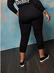 Plus Size Jogger - LoveSick Cute But Deadly Black, DEEP BLACK, alternate